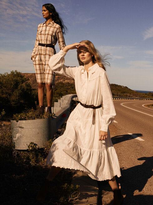 Lady Grazier Shirt Dress