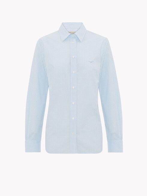 Pale Blue/White