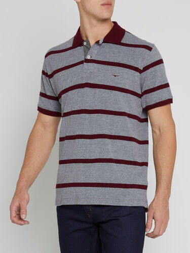 Rod Polo Jaspe' Stripe