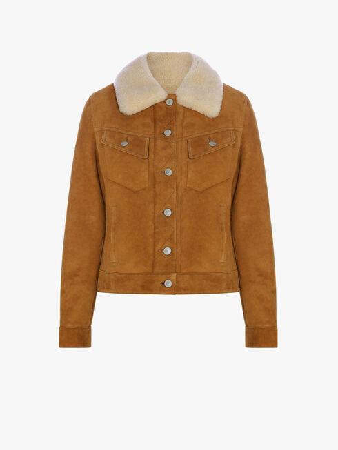 Shearling Rider Jacket