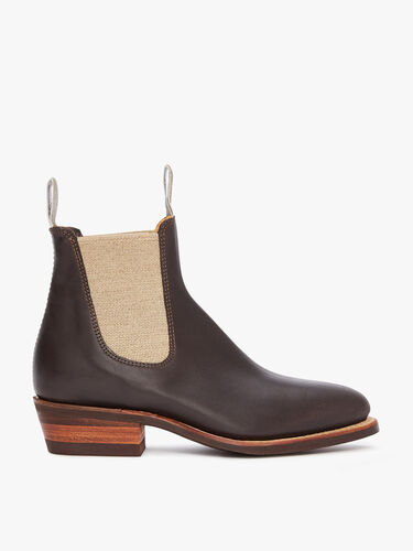RM Williams Chelsea Boots Lady Yearling Rubber Sole Boot