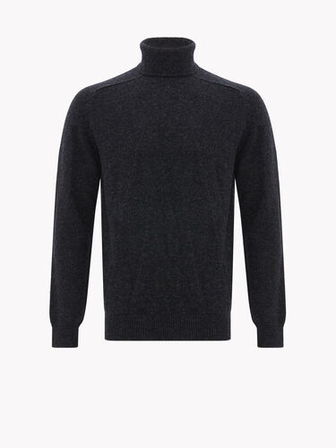 Roll Neck Saddle Sleeve