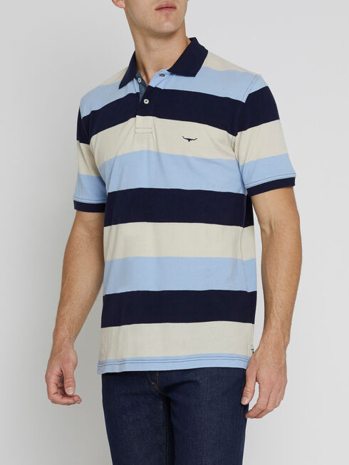 Rod Polo Block Stripe