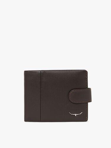 Wallet with Coin Pocket & Tab