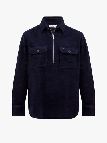 RM Williams Shirts Hawker Zip Brigalow Shirt