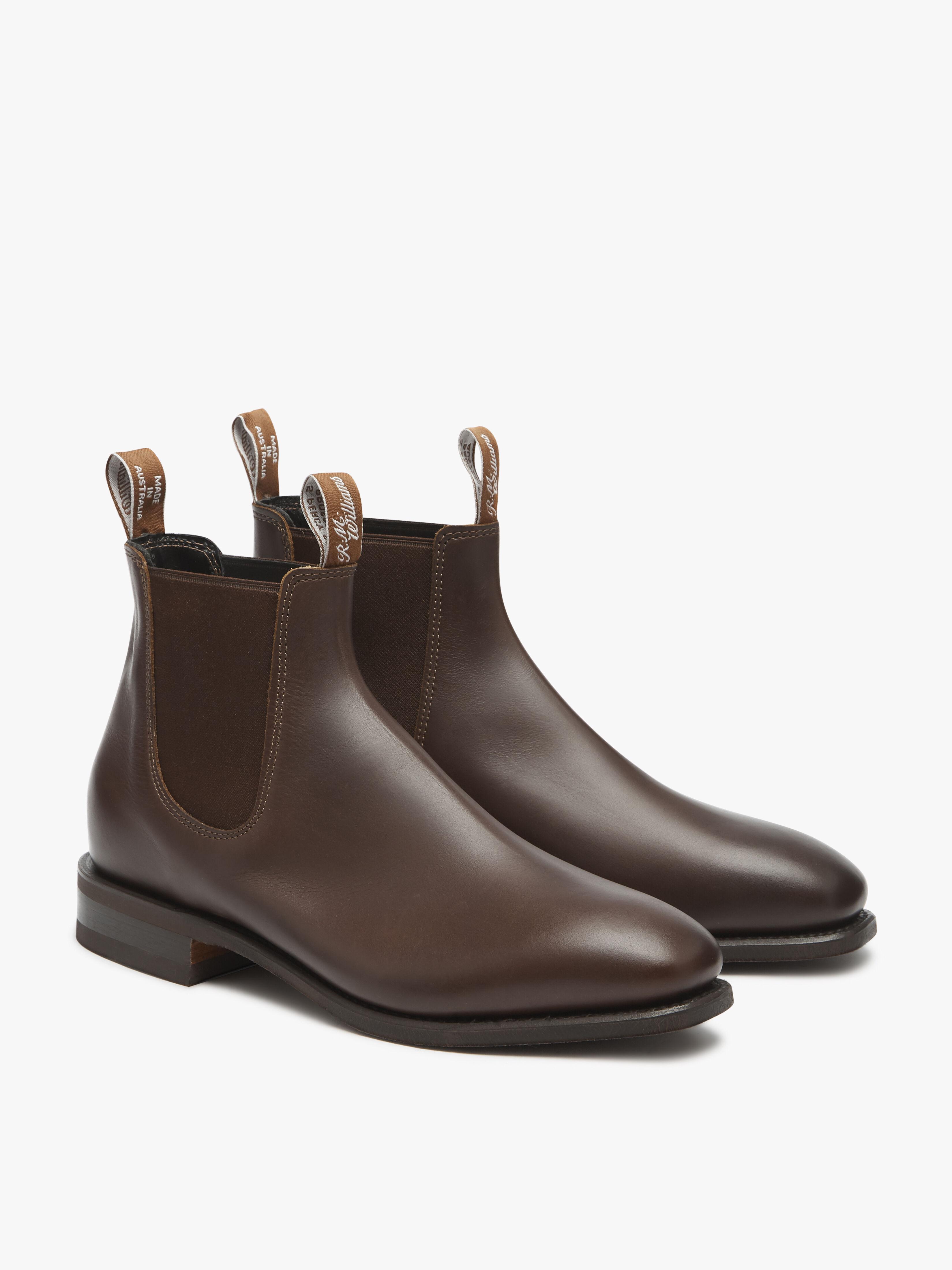 R. M. Williams Comfort Craftsman Mens Chelsea Boots in