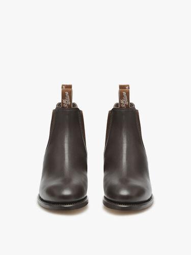 Adelaide Cuban Heel Boot
