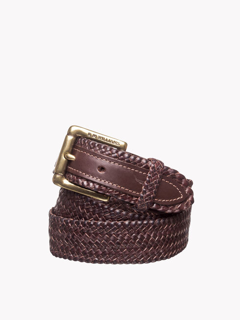 Plaited Buckle Belt