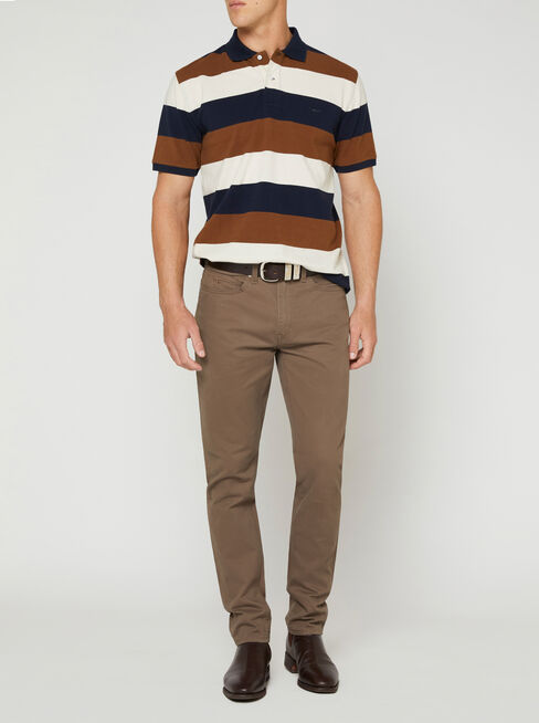 Brown Navy Ston