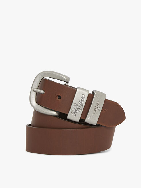 3 Piece Solid Hide Belt