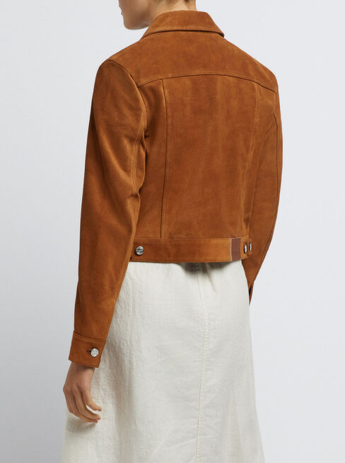 Calliope Cropped Rider Jacket