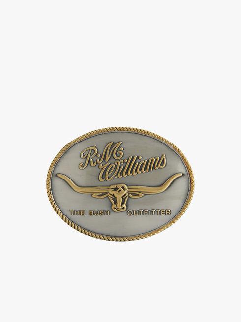 R.M.Williams Logo Buckle