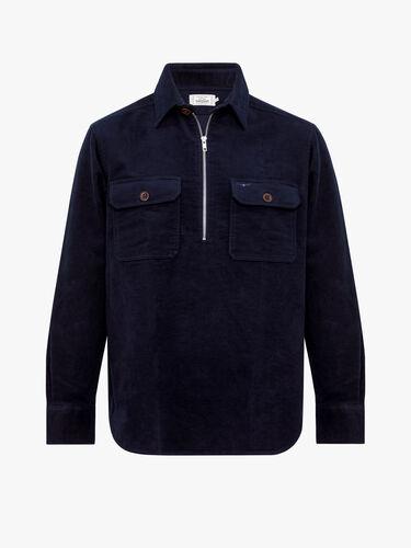 RM Williams Shirts Hawker Zip Brigalow Shirt