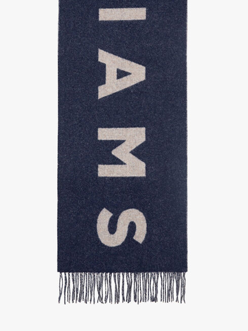 R.M.Williams Logo Scarf