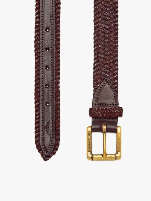 Plaited Buckle Belt