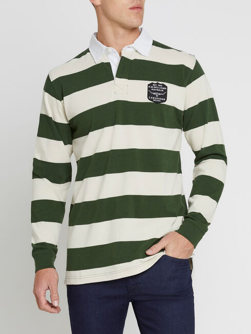Tweedale Medium Stripe Rugby