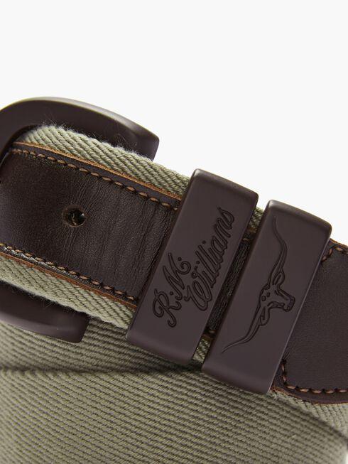 Drover Canvas Belt