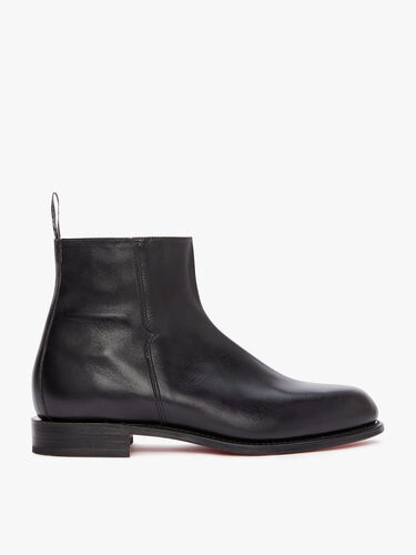 RM Williams Zip Up Boots Burnished Balmoral Boot