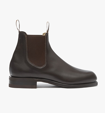 R.M.Williams Turnout boot in Chestnut