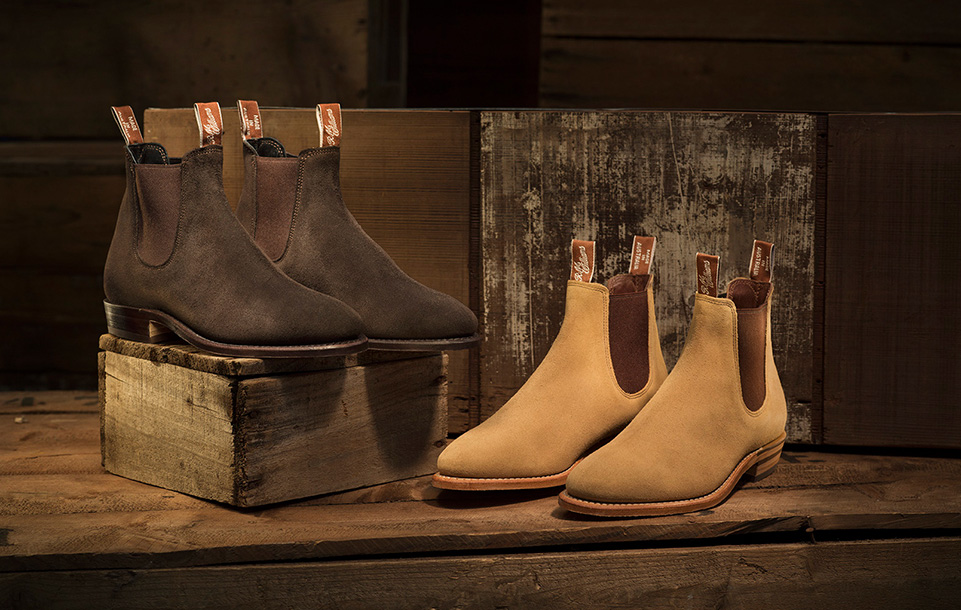Caring for your R.M.Williams suede leather boots