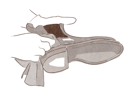 Polishing your R.M.Williams boots