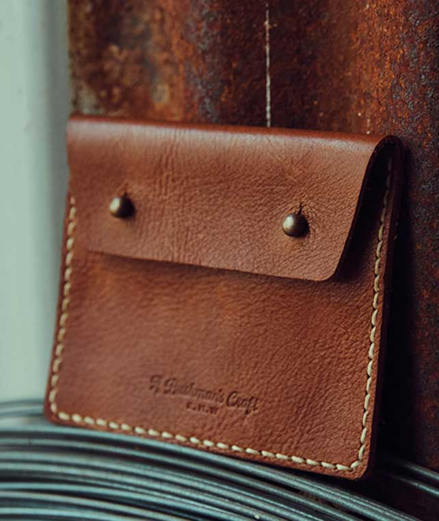 Leather Pouch - Maker Kit