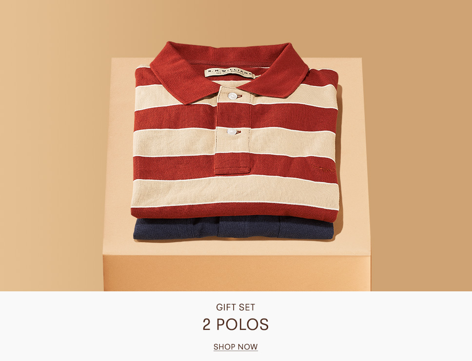 Shop Polos this Christmas with R.M.Williams