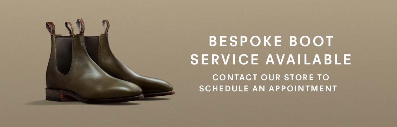 Bespoke Boots Service Available