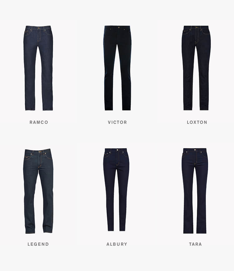 R.M.Williams jeans collection