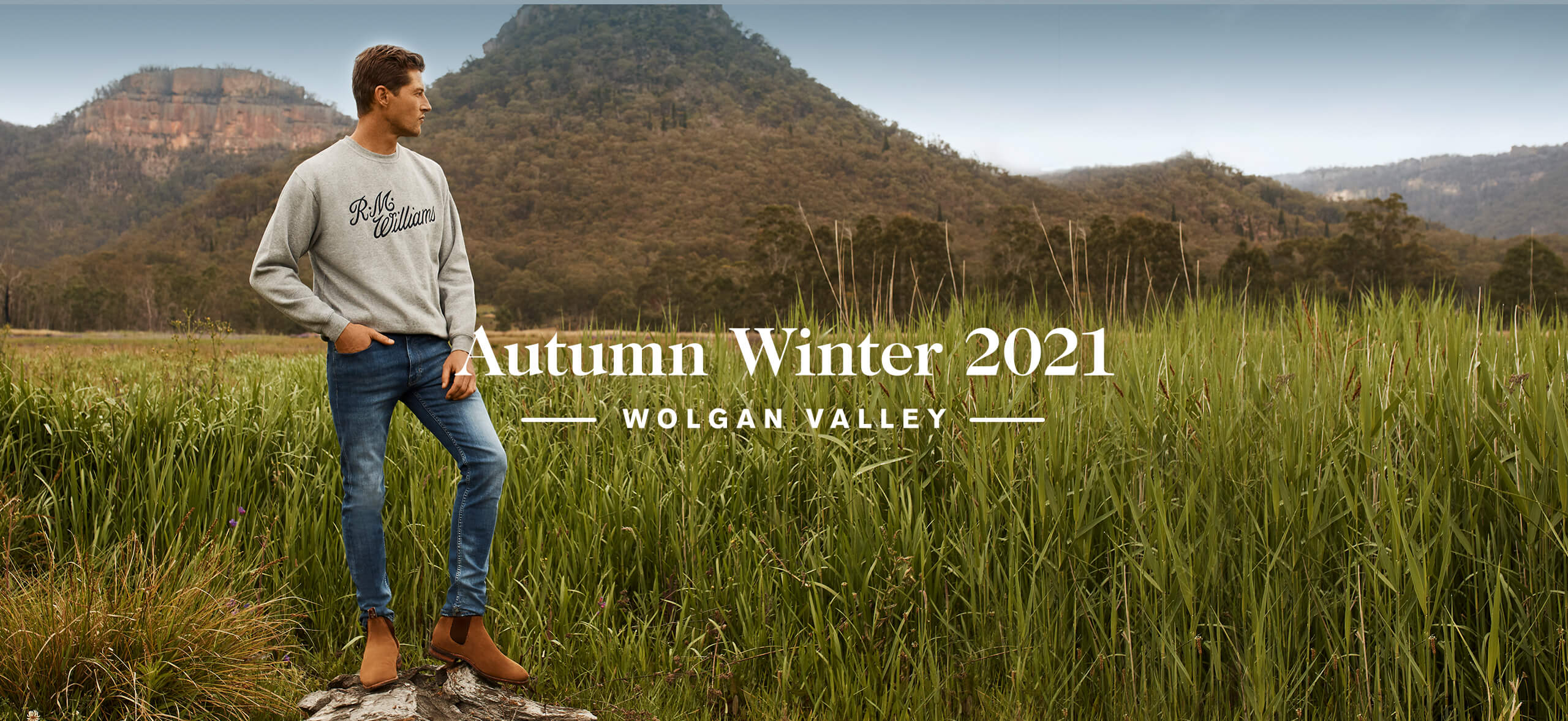 R.M.Williams Autumn Winter 2021 Collection - Shop Mens