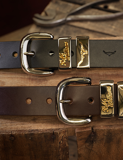 R.M.Williams Leather Belts
