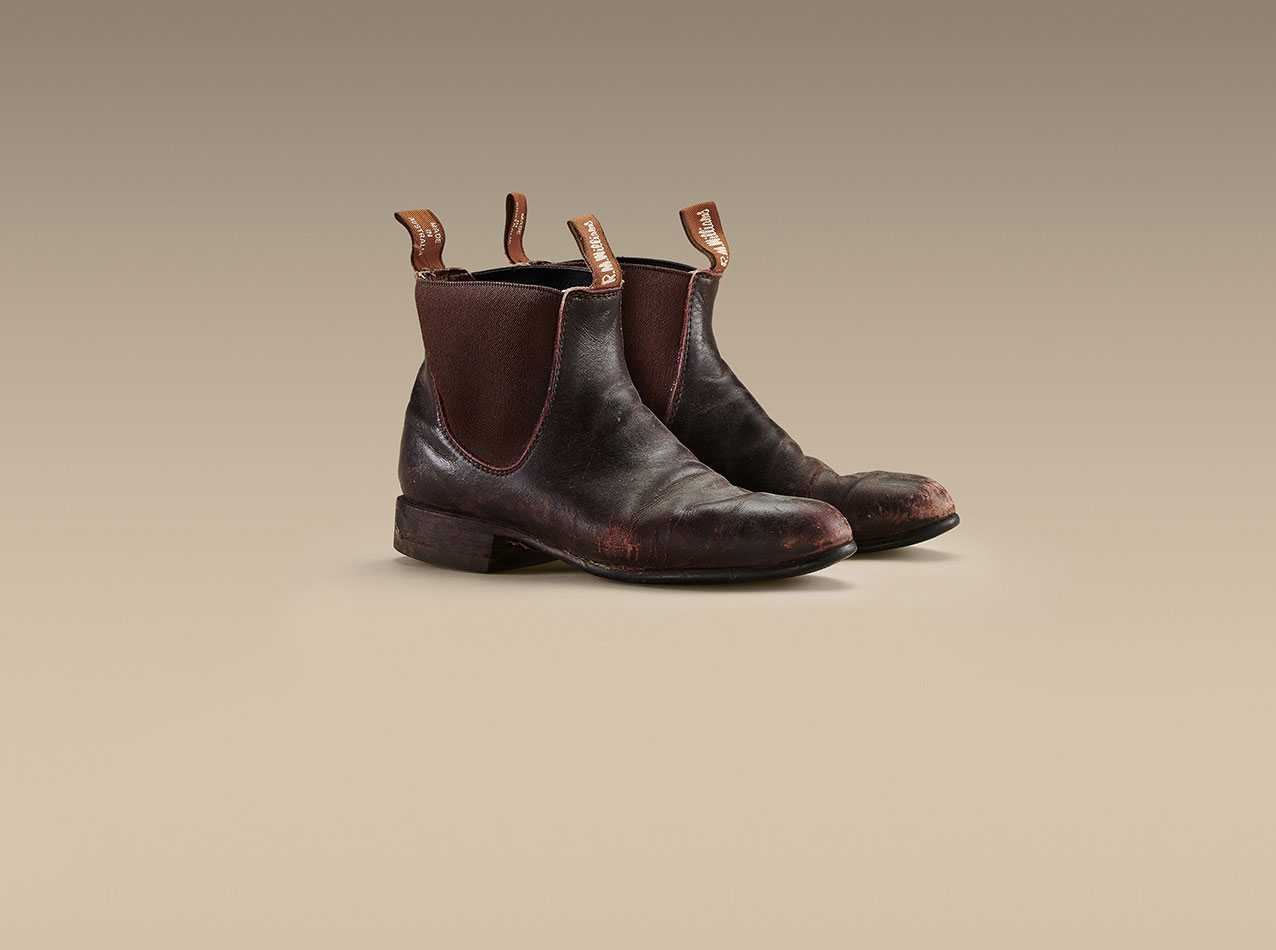Margaret's R.M.Williams Macquarie boots